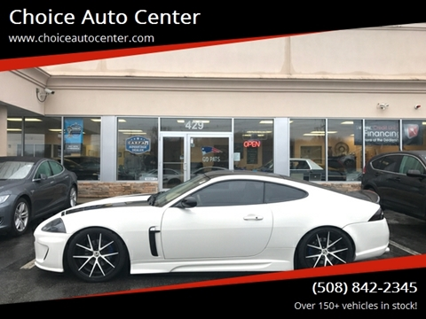2009 Jaguar XK for sale at Choice Auto Center in Shrewsbury MA
