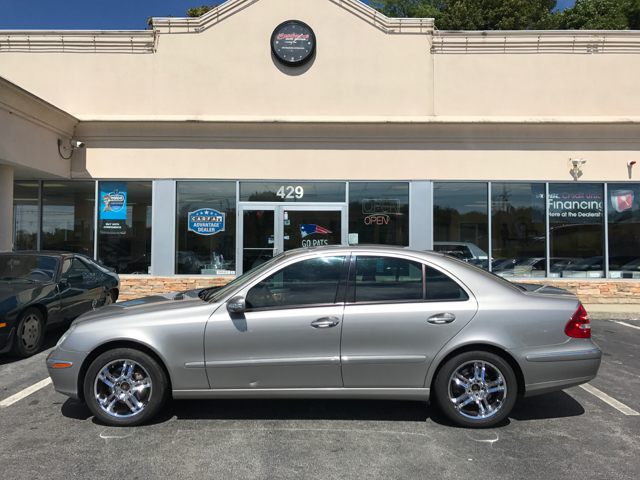 2004 Mercedes Benz E Class For Sale At Choice Auto Center In Shrewsbury MA