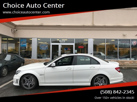 2009 Mercedes-Benz C-Class for sale at Choice Auto Center in Shrewsbury MA