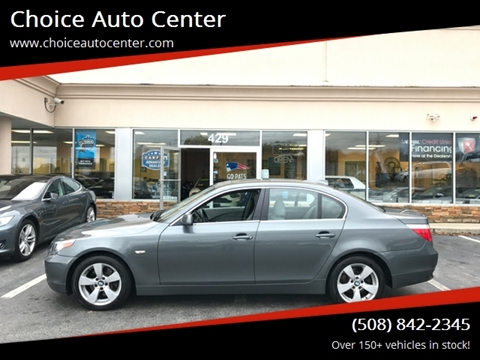 2006 BMW 5 Series for sale at Choice Auto Center in Shrewsbury MA