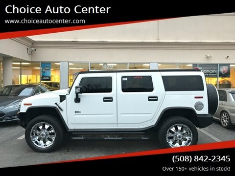 2007 HUMMER H2 for sale at Choice Auto Center in Shrewsbury MA