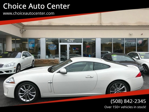 2010 Jaguar XK for sale at Choice Auto Center in Shrewsbury MA