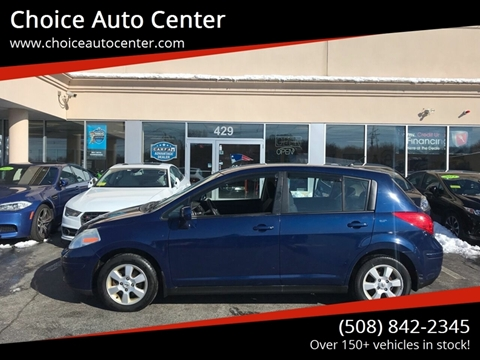 2009 Nissan Versa for sale at Choice Auto Center in Shrewsbury MA