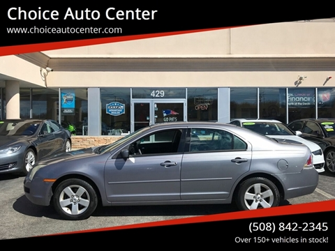 2006 Ford Fusion for sale at Choice Auto Center in Shrewsbury MA