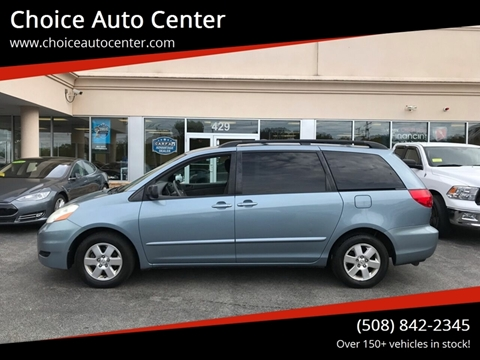 2010 Toyota Sienna for sale at Choice Auto Center in Shrewsbury MA