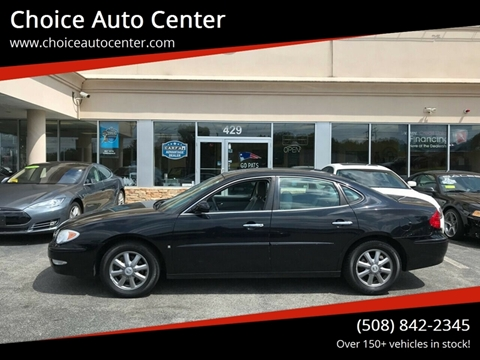 2007 Buick LaCrosse for sale at Choice Auto Center in Shrewsbury MA