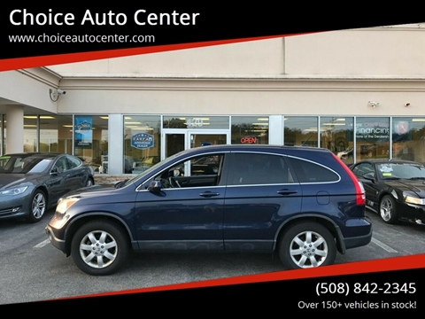 2007 Honda CR-V for sale at Choice Auto Center in Shrewsbury MA