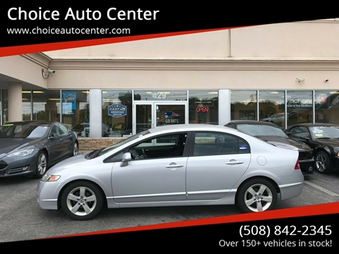 2011 Honda Civic for sale at Choice Auto Center in Shrewsbury MA
