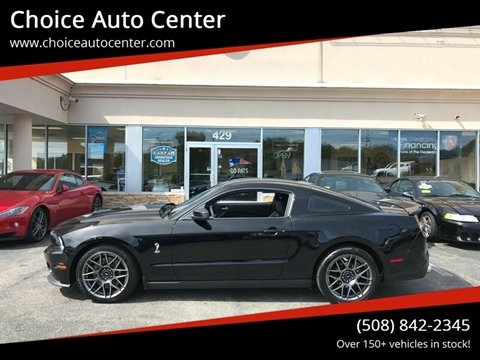 2011 Ford Shelby GT500 for sale at Choice Auto Center in Shrewsbury MA