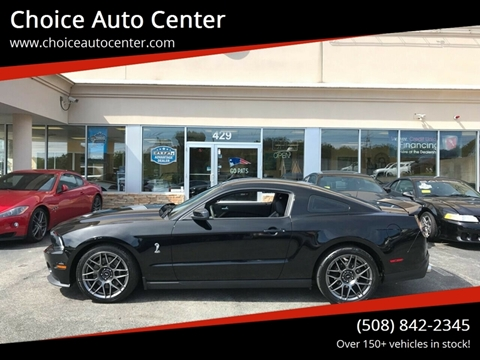2011 Ford Shelby GT500 for sale in Shrewsbury, MA
