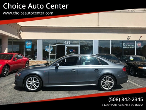 Audi S4 For Sale in Shrewsbury, MA - Choice Auto Center