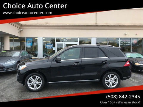 2015 Mercedes-Benz M-Class ML 350 4MATIC for sale at Choice Auto Center in Shrewsbury MA