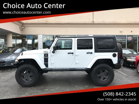 2016 Jeep Wrangler Unlimited for sale in Shrewsbury, MA