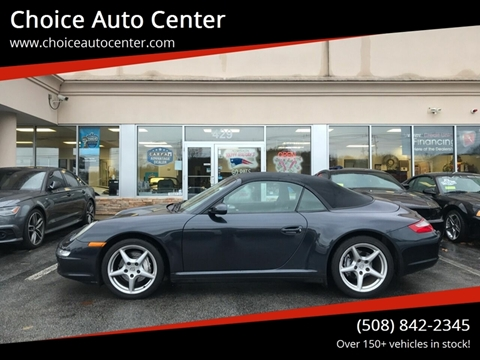 2006 Porsche 911 for sale at Choice Auto Center in Shrewsbury MA