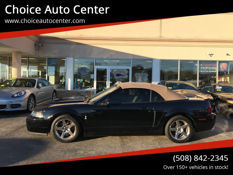 2003 Ford Mustang SVT Cobra for sale at Choice Auto Center in Shrewsbury MA