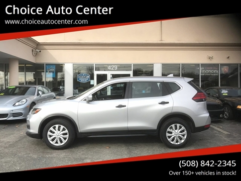 2017 Nissan Rogue for sale at Choice Auto Center in Shrewsbury MA
