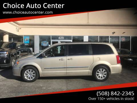 2014 Chrysler Town and Country for sale at Choice Auto Center in Shrewsbury MA