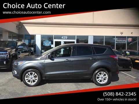 2017 Ford Escape SE for sale at Choice Auto Center in Shrewsbury MA