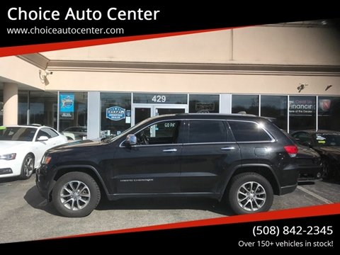 2014 Jeep Grand Cherokee for sale at Choice Auto Center in Shrewsbury MA