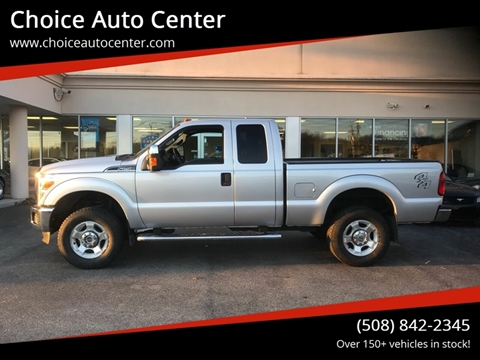 2015 Ford F-250 Super Duty XLT for sale at Choice Auto Center in Shrewsbury MA