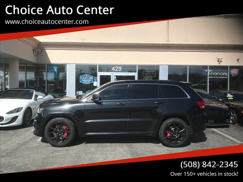 2013 Jeep Grand Cherokee SRT8 for sale at Choice Auto Center in Shrewsbury MA