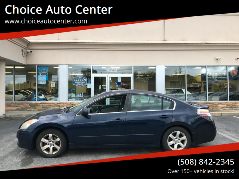 2007 Nissan Altima for sale at Choice Auto Center in Shrewsbury MA