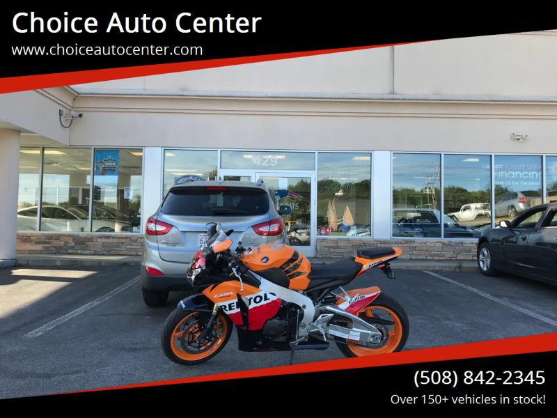2011 Honda CBR1000RR for sale at Choice Auto Center in Shrewsbury MA
