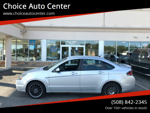 2010 Ford Focus for sale at Choice Auto Center in Shrewsbury MA