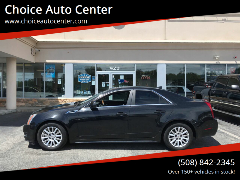 2012 Cadillac CTS for sale at Choice Auto Center in Shrewsbury MA