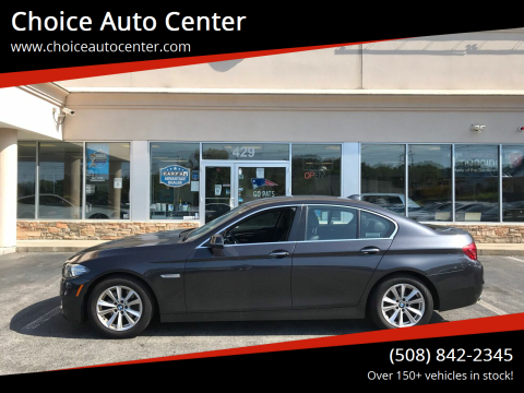 2015 BMW 5 Series for sale at Choice Auto Center in Shrewsbury MA