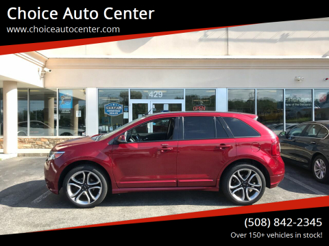 2013 Ford Edge for sale at Choice Auto Center in Shrewsbury MA