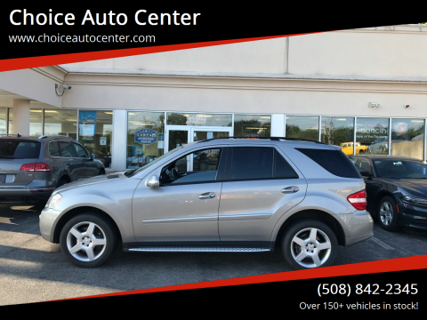 2008 Mercedes-Benz M-Class for sale at Choice Auto Center in Shrewsbury MA