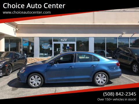 2017 Volkswagen Jetta for sale at Choice Auto Center in Shrewsbury MA