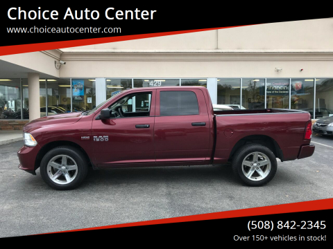 2016 RAM Ram Pickup 1500 for sale at Choice Auto Center in Shrewsbury MA