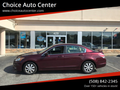 2011 Honda Accord for sale at Choice Auto Center in Shrewsbury MA