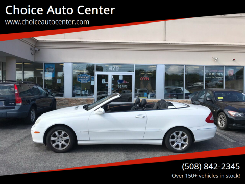 2004 Mercedes-Benz CLK for sale at Choice Auto Center in Shrewsbury MA
