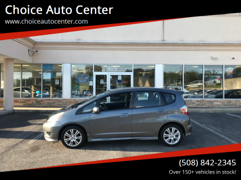 2011 Honda Fit for sale at Choice Auto Center in Shrewsbury MA