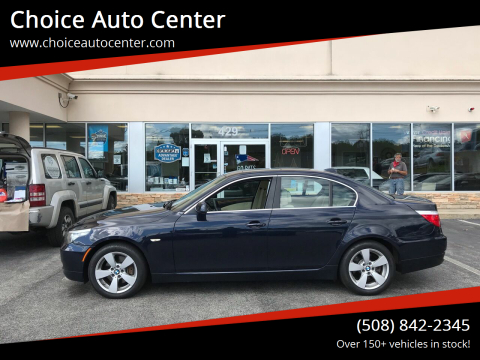 2008 BMW 5 Series for sale at Choice Auto Center in Shrewsbury MA