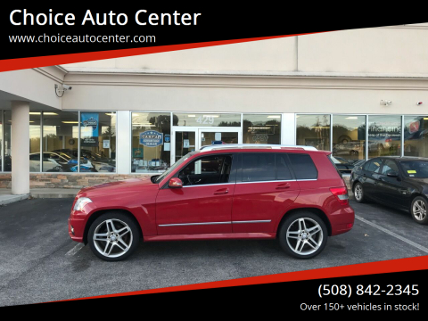 2011 Mercedes-Benz GLK for sale at Choice Auto Center in Shrewsbury MA