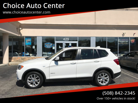 2013 BMW X3 for sale at Choice Auto Center in Shrewsbury MA