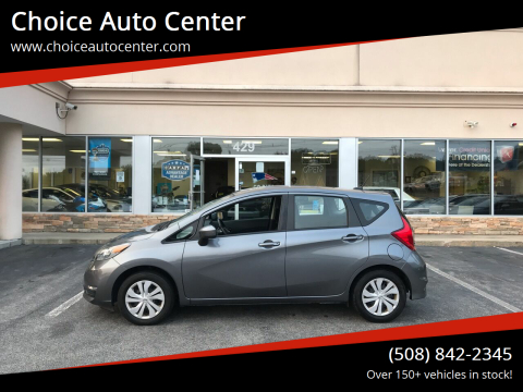 2018 Nissan Versa Note for sale at Choice Auto Center in Shrewsbury MA