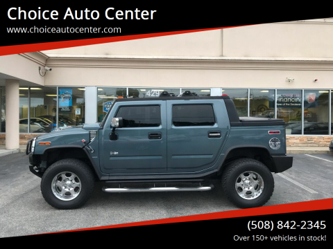2005 HUMMER H2 SUT for sale at Choice Auto Center in Shrewsbury MA