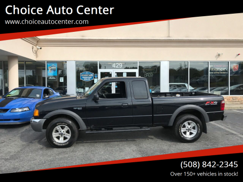 2003 Ford Ranger for sale at Choice Auto Center in Shrewsbury MA