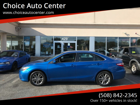 2017 Toyota Camry for sale at Choice Auto Center in Shrewsbury MA