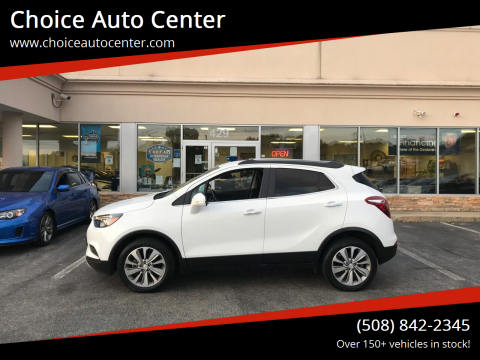 2017 Buick Encore for sale at Choice Auto Center in Shrewsbury MA