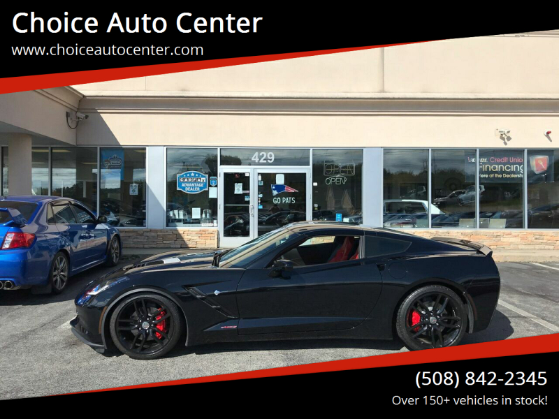 2014 Chevrolet Corvette for sale at Choice Auto Center in Shrewsbury MA