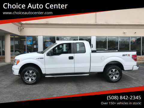 2014 Ford F-150 for sale at Choice Auto Center in Shrewsbury MA