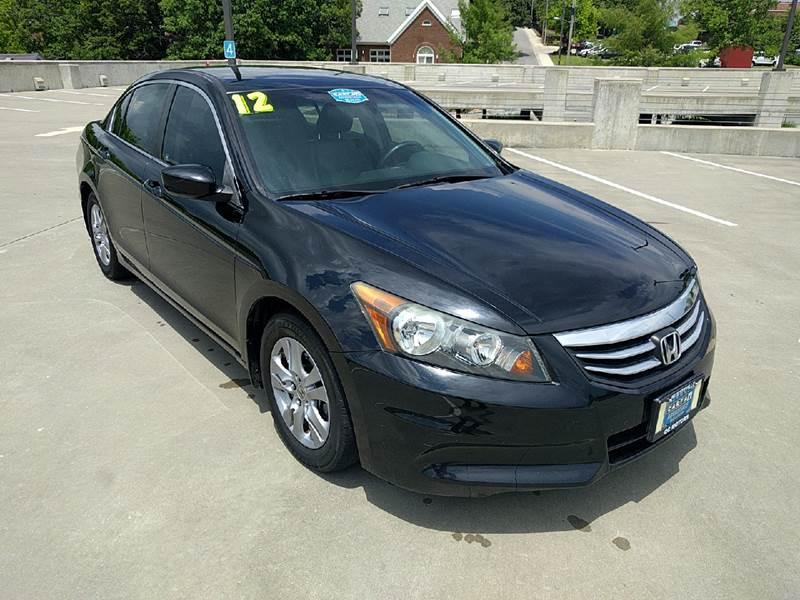 2012 Honda Accord SE 4dr Sedan   Fayetteville AR