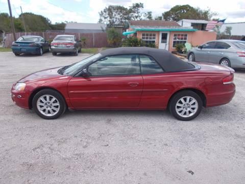 2003 Chrysler Sebring for sale in Okeechobee, FL