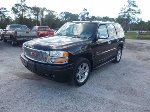 2005 GMC Yukon for sale in Okeechobee, FL